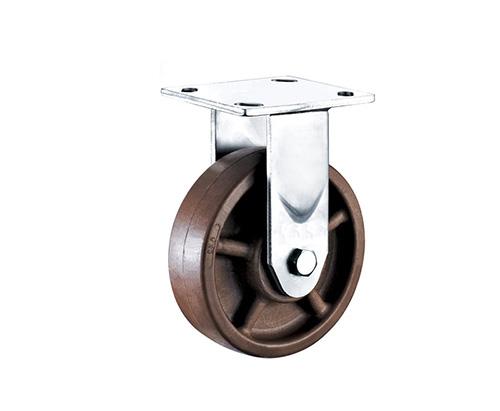 4-8寸重型耐高温定向脚轮
