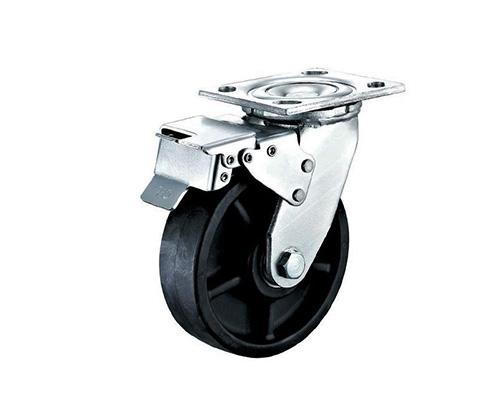 4-8寸重型耐高温刹车脚轮
