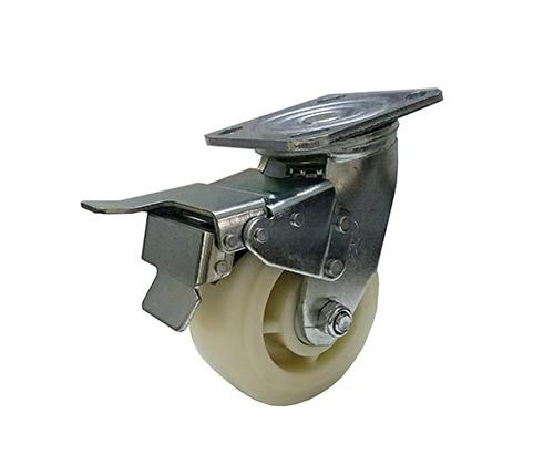4-8寸重型刹车尼龙脚轮