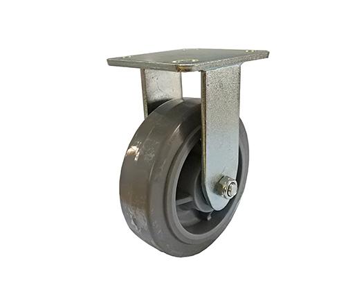 4-8寸重型定向人造胶脚轮