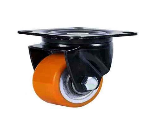 3寸低重心铁芯聚氨脂脚轮