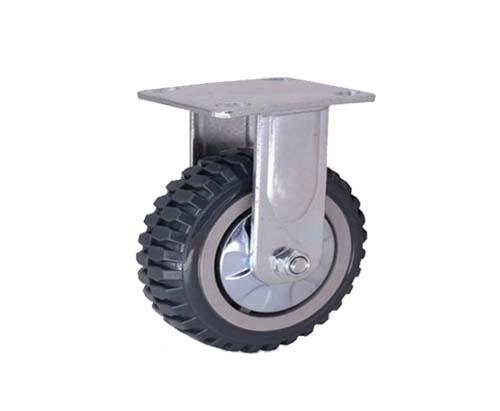 4-8寸重型平底烽火轮定向脚轮
