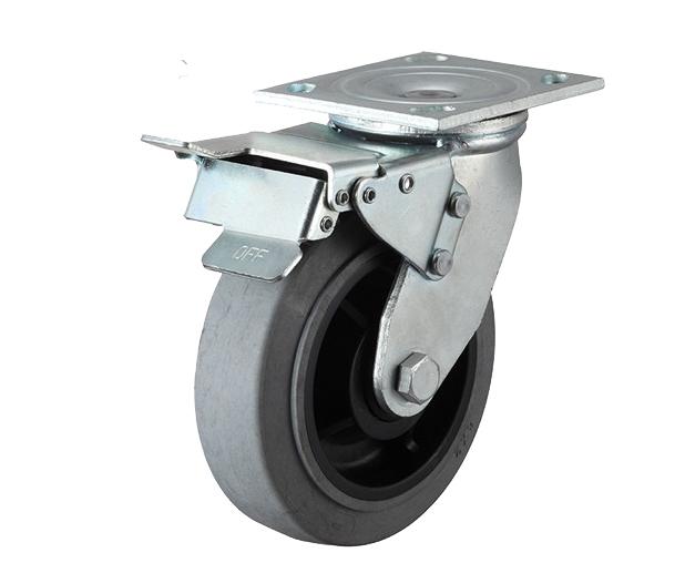 4-8寸重型防静电刹车脚轮