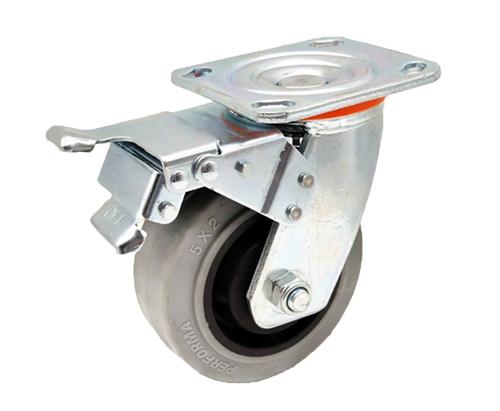 5寸重型防静电刹车脚轮