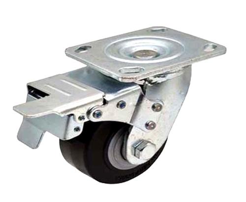 4-8寸重型平板刹车脚轮