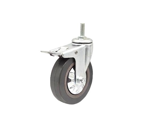 4寸灰胶轮