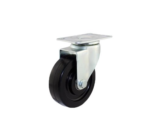 4寸平底导电万向脚轮