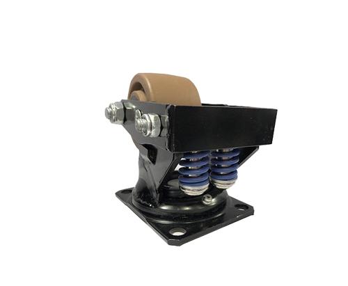 3寸低重心弹簧减震脚轮