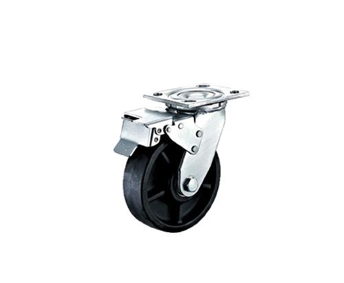 6寸重型耐高温刹车脚轮