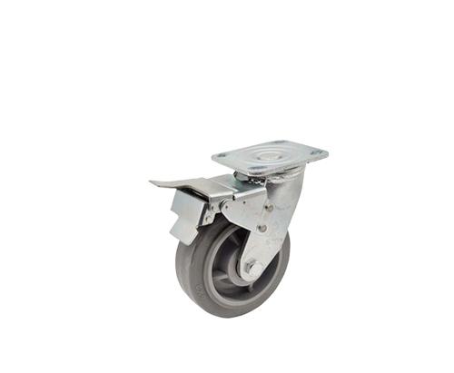 5寸重型定向人造胶脚轮