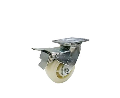 5寸重型刹车尼龙脚轮
