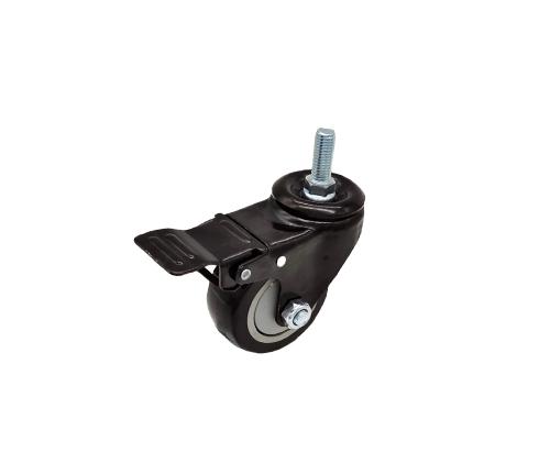 3寸丝杆刹车脚轮