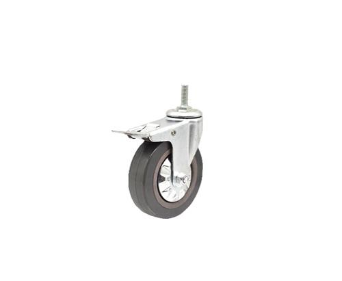 4寸灰胶刹车轮