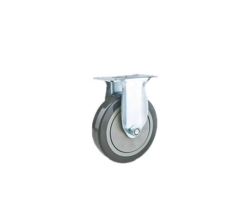 中型单轴灰色pvc定向轮