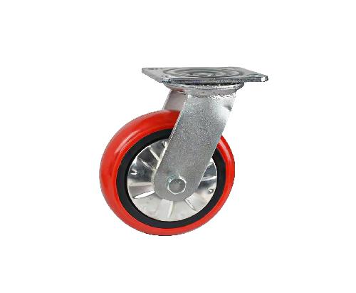 韩式重型万向平板脚轮
